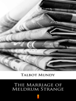 The Marriage of Meldrum Strange