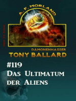 Das Ultimatum der Aliens - Tony Ballard Nr. 119
