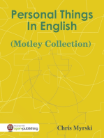 Personal Things In English (Motley Collection)