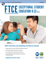 FTCE Exceptional Student Education K-12 (061) Book + Online 2e