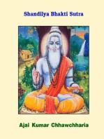 Shandilya Bhakti Sutra