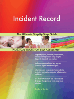 Incident Record The Ultimate Step-By-Step Guide