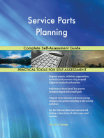 Service Parts Planning Complete Self-Assessment Guide