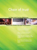 Chain of trust A Clear and Concise Reference