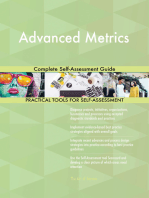 Advanced Metrics Complete Self-Assessment Guide