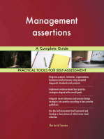 Management assertions A Complete Guide