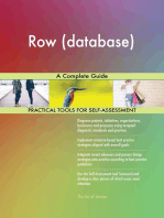 Row (database) A Complete Guide