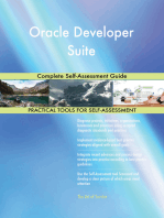Oracle Developer Suite Complete Self-Assessment Guide