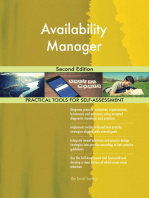 Availability Manager Second Edition