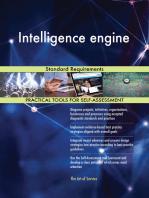 Intelligence engine Standard Requirements