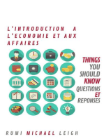 Introduction à L'Economie et Aux Affaires