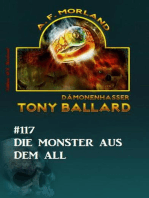 Die Monster aus dem All - Tony Ballard Nr. 117