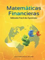 Matemáticas Financieras: Método fácil de aprender