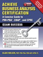 Achieve Business Analysis Certification
