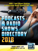 Podcasts and Radio Shows Directory 2018