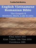 English Vietnamese Romanian Bible - The Gospels II - Matthew, Mark, Luke & John