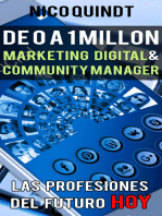 De 0 a 1 millón: Marketing digital & Community manager