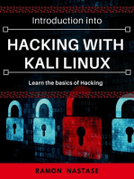 Introduction into Hacking with Kali Linux