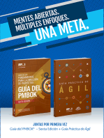 A Guide to the Project Management Body of Knowledge (PMBOK(R) Guide-Sixth Edition / Agile Practice Guide Bundle (SPANISH)