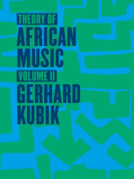 Theory of African Music, Volume II