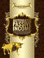 Automatic Passive Income - How the Best Dividend Stocks Can Generate Passive Income for Wealth Building.