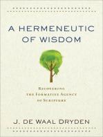 A Hermeneutic of Wisdom