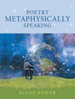 Poetry Metaphysically Speaking