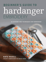 Beginner's Guide to Hardanger Embroidery