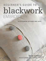 Beginner's Guide to Blackwork Embroidery