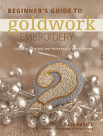 Beginner's Guide to Goldwork Embroidery