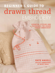 Beginner's Guide to Drawn Thread Embroidery: Essential stitches and techniques for drawn thread embroidery