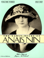 The Early Diary of Anaïs Nin, 1923–1927