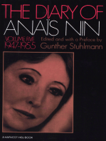 The Diary of Anaïs Nin, 1947–1955