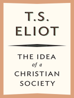 The Idea of a Christian Society