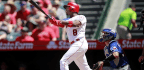 Justin Anderson Beats The Squeeze In Angels' 3-1 Victory Over The Rangers