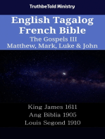 English Tagalog French Bible - The Gospels III - Matthew, Mark, Luke & John