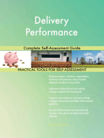 Delivery Performance Complete Self-Assessment Guide
