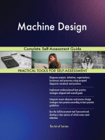 Machine Design Complete Self-Assessment Guide