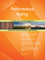 Performance testing A Clear and Concise Reference