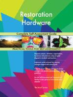 Restoration Hardware Complete Self-Assessment Guide
