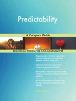 Predictability A Complete Guide