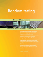 Random testing Standard Requirements