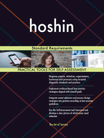 hoshin Standard Requirements