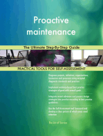 Proactive maintenance The Ultimate Step-By-Step Guide
