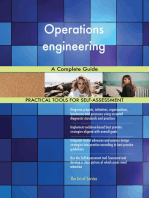 Operations engineering A Complete Guide
