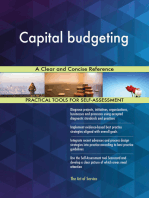 Capital budgeting A Clear and Concise Reference