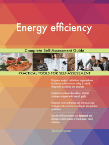 Energy efficiency Complete Self-Assessment Guide
