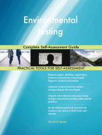 Environmental testing Complete Self-Assessment Guide