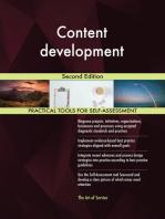 Content development Second Edition