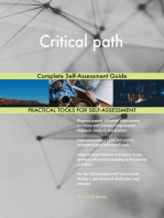 Critical path Complete Self-Assessment Guide